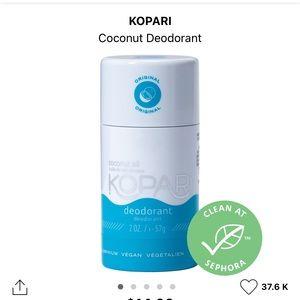 NIB Kopari Coconut Deodorant
